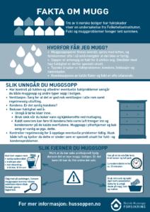 Bilde av fakta om muggplakat