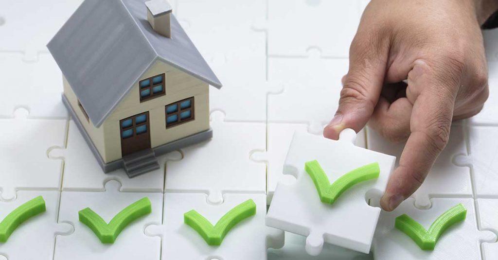 sjekkpunkter for hus